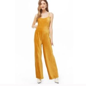 That 70's show style. Flare wide leg jumpsuit